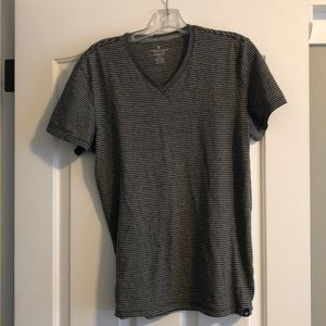 American Eagle seriously soft v neck t shirt black